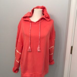 Lou and Grey coral hoodie